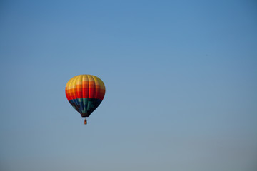 Ballooning in Snake River Valley