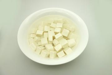 Bowl of tofu