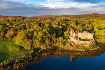 Sunset at Dunvegan Castle
