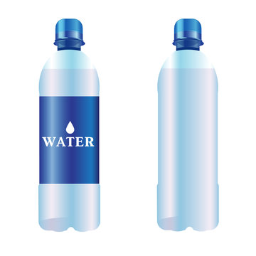 Bottle of pure water
