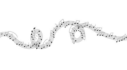 note, spartito, pentagramma, musica,