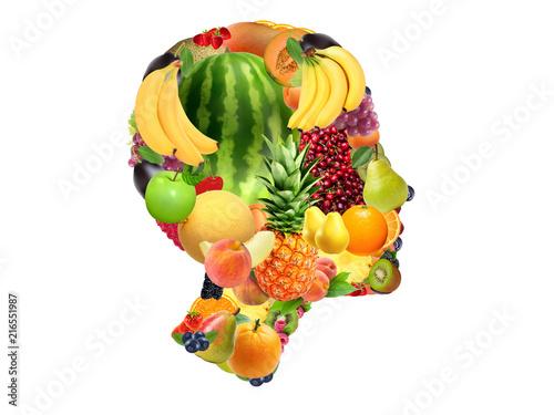 39abf2b11101c Diferentes frutas, com diferentes texturas e cores