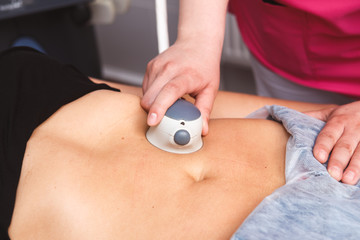 Beauty Spa, Human Hand, Liposuction Medical Laser Dieting, Growth, Future, Care, Protection