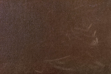 Quality brown leather texture