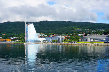 View of Molde, Norway