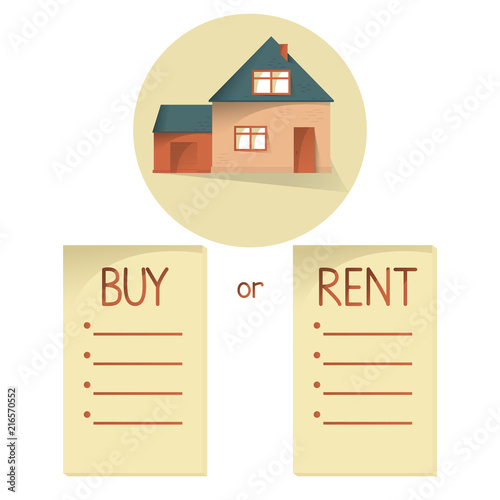 analysis on renting or buying a house You will need to input several numbers so the calculator can accurately compare all the factors affecting renting versus buying (interest, property taxes, tax savings, appreciation, opportunity costs, closing costs, selling costs, etc.