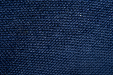 Piece of fabric , texture with clear pattern of weaving fiber