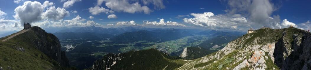 Panorama - Blick auf's Gailtal