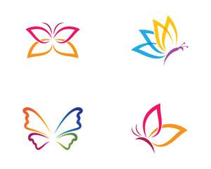 Butterfly symbol illustration
