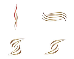 Hair symbol illustration