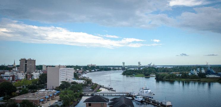 Riverfront Wilmington, NC, USA