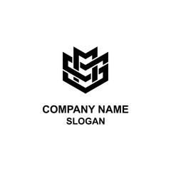 MS letter initial logo.