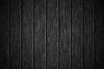 Pattern wooden table black texture background.