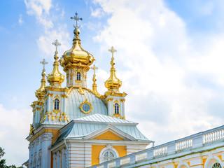 Church of Saints Peter and Paul in Peterhof palace, Saint Petersburg, Russia