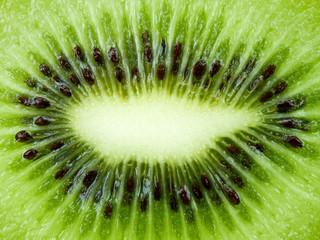 Close up texture background Kiwi fruit