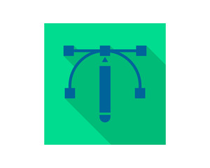 rectangle cursor draw design vector icon image vector icon logo symbol