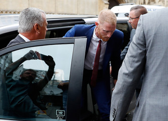 England cricket player Ben Stokes arrives at Bristol Magistrates Court, in Bristol
