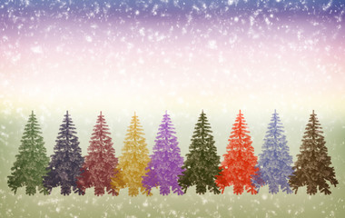 Christmas greetings, festive background for the images.