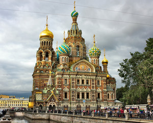 Auferstehungskirche- I - St. Petersburg