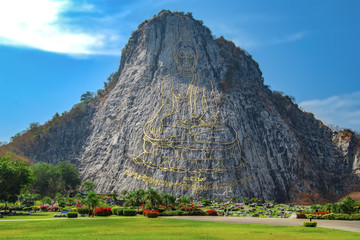 Khao Chi Chan mountain. Pattaya. Thailand