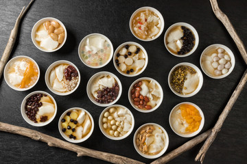 台湾スイーツ 豆花 Asmen's handmade soybean pudding