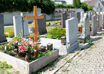 Friedhof, Gräber, Grab, trauer, Tod, Allerheiligen