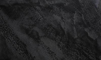 Dark grey or black slate textured background