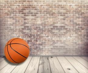Basket Ball over Transparent Background