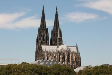 Der Kölner Dom im Zentrum von Köln