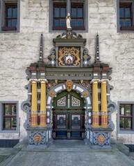 Hannoversch Münden Rathaus Eingang Tür