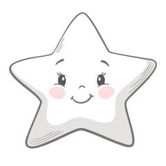 Star cute print