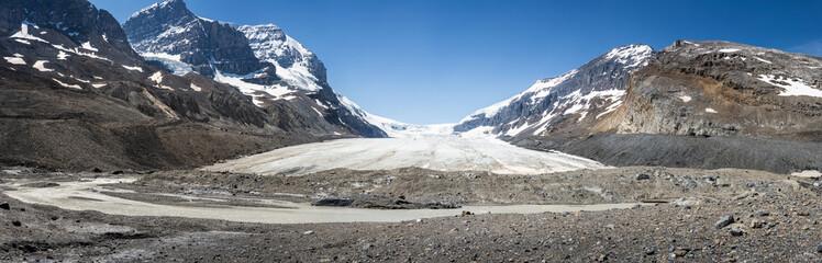 Athabasca Glacier in Jasper National Park, Alberta, Canada
