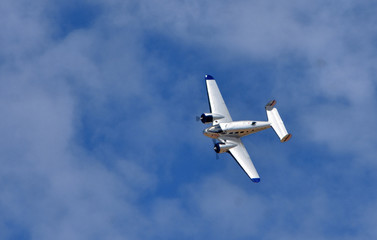 Vintage G-BKGL  Beech C-45H Expeditor  aircraft in flight