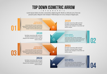 Arrow Infographic Layout