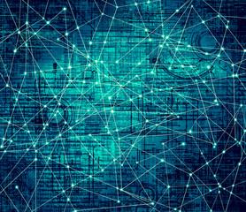 Fototapete - Best Internet Concept of global business.Technological backgroun