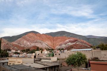 Hill of Seven Colors (Cerro de los siete colores) at Purmamarca town - Purmamarca, Jujuy, Argentina