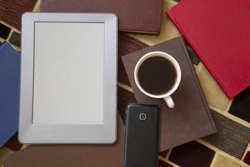 E-book E-Learning Electronic Internet Mobility Concept