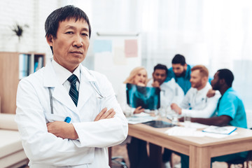 The Asian Doctor Stare. Diagnostic Discussion.