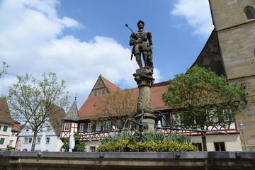 Graf-Albrecht-Brunnen in Öhringen