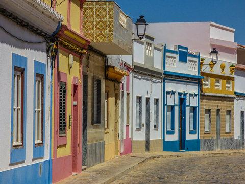 Castro Marim. Pueblo del Algarve en Portugal frontera con Ayamonte en Huelva, Andalucia,España