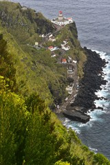 Azoren - Sao Miguel - Leuchtturm bei Nordeste