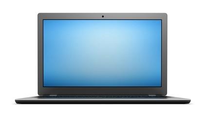 laptop computer single 3d illustration