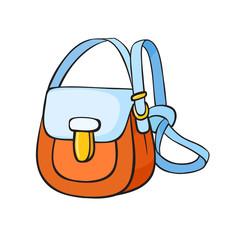 Pop art style handbag sticker