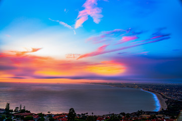 Sunsets and Skies of South Bay, Southern California
