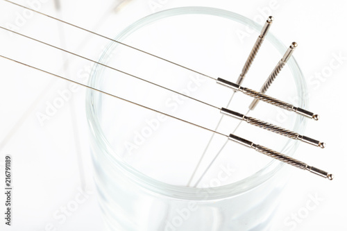 Silver needles for traditional Chinese medicine acupuncture