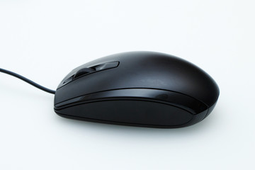 Mouse for laptop on white table