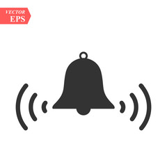 Ringing bell icon.bell Icon Vector. Art. eps. Image. logo.bell Icon Sign.