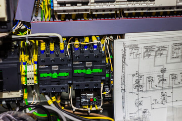 .electrical equipment with circuit in the box