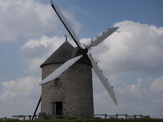 Fond de hotte en verre imprimé Moulins molino 6