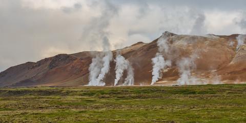 Krafla, Hverir geothermal area, Nordurland eystra, Norther iceland, iceland